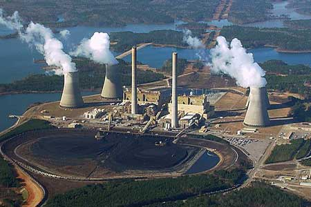 Coal Fired Energy Plant Learning Tool